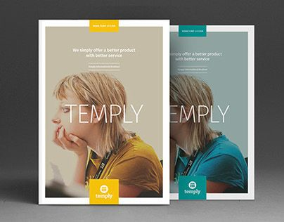 The InfoBrochure indesign template is a brochure with space to give a little extra information about your company, some facts and figures and maybe some infographics too