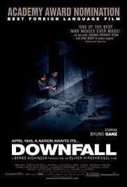 Downfall - Traudl Junge, the final secretary for Adolf Hitler, tells of the Nazi dictator's final days in his Berlin bunker at the end of WWII.