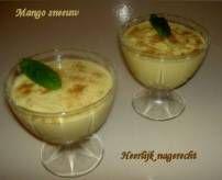 Een heerlijk en makkelijk nagerecht! Het is super simpel te maken en toch zooooo lekker!! Als je Mango op siroop uit blik gebruikt, wordt de zoete smaak...