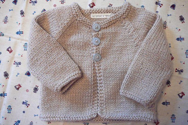 photo tricot modele tricot gilet bebe garcon 4