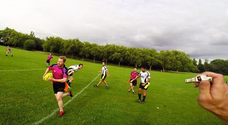 Tag Rugby (Refcam) Mixed A Grade Round 4 (Late Summer 2014) - Tagaholics...