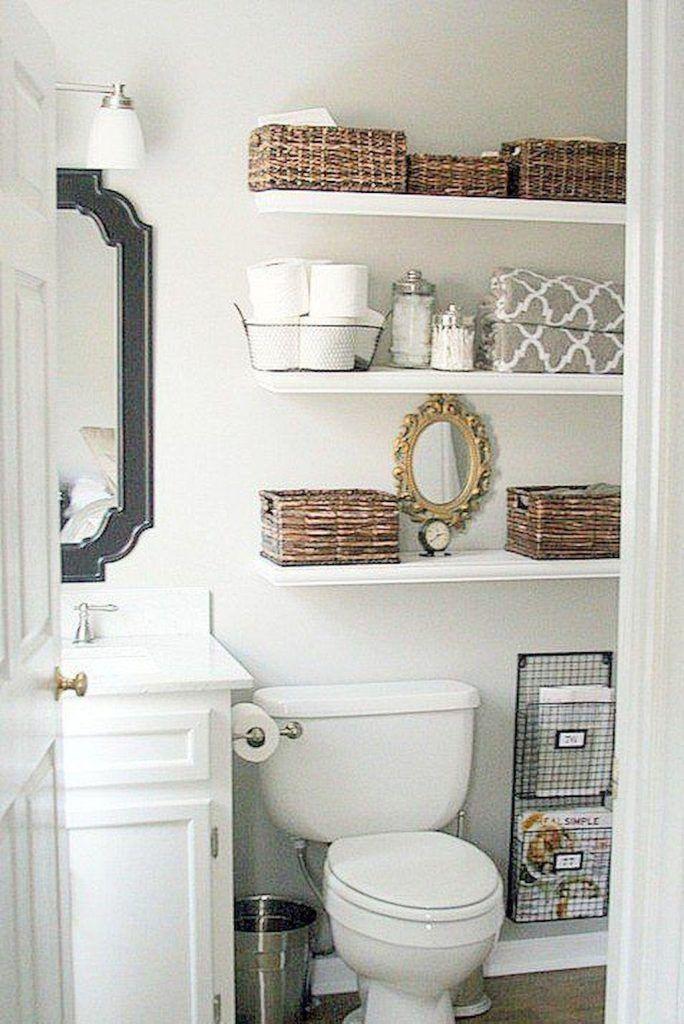 Perfect Small Bathroom Storage Above Toilet Only In Shopy Home Design Small Bathroom Small Bathroom Organization Bathroom Makeover