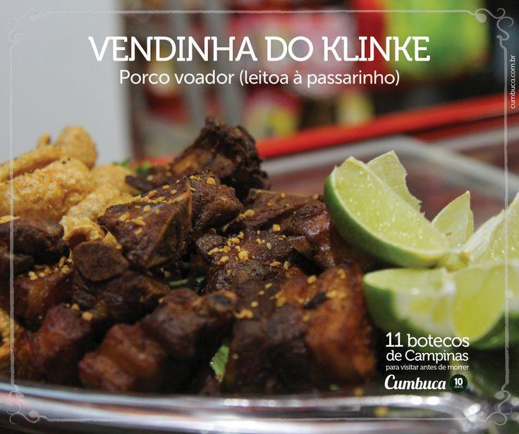 Vendinha do Klinke - Porco voador  | 11 botecos para visitar antes de morrer do Cumbuca  http://www.cumbuca.com.br/melhores-bares-e-botecos-de-campinas/