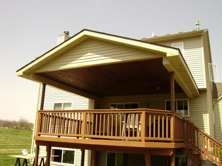 19 best images about deck with roofs on pinterest back for Top deck roofing