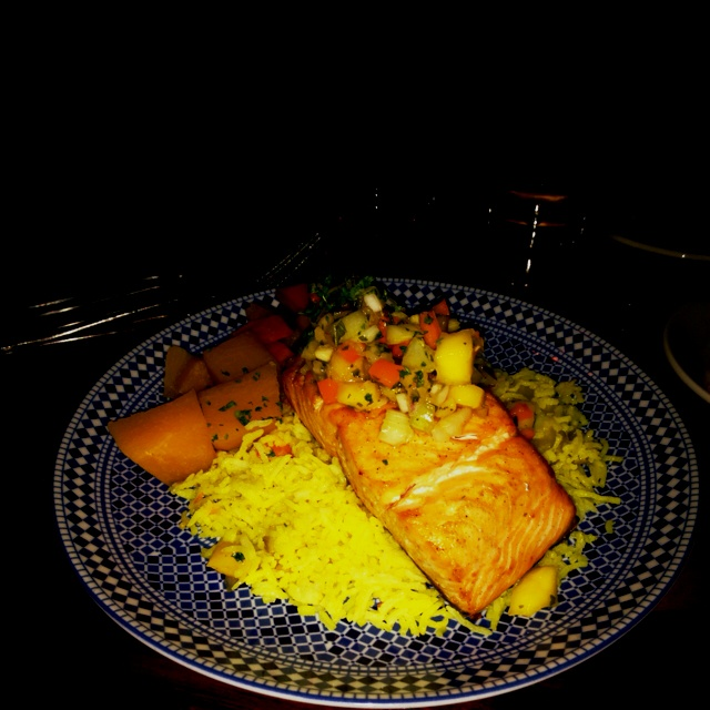 Mango Salmon from Sultans Tent
