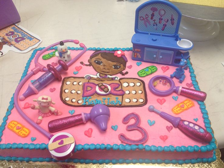 65 Best Cake Doc Mcstuffins Images On Pinterest Birthday Party