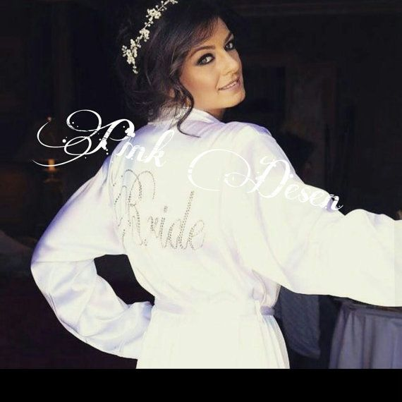 Hey, I found this really awesome Etsy listing at https://www.etsy.com/listing/400389199/bride-silk-satin-robe-with-script