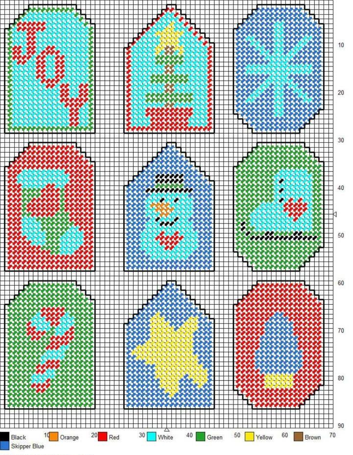 ornaments gift tags plastic craftplastic canvas ornamentsplastic canvas christmasplastic