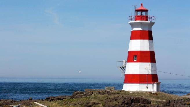 Western Light is a beacon to weary hikers on Brier Island who can spot the lighthouse from far away while navigating the coastline counter-clockwise from Westport. (FRANCES WILLICK)