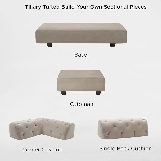 17 best ideas about tufted sectional on pinterest tiny house on wheels mini homes and tiny. Black Bedroom Furniture Sets. Home Design Ideas