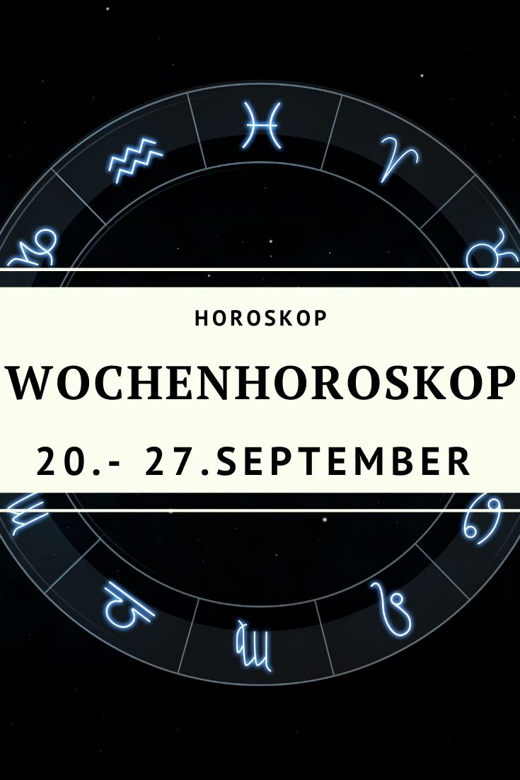 Horoskop Waage Diese Woche