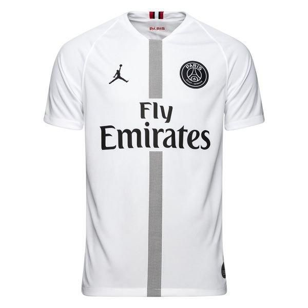 PSG AIR JORDAN White 2018 19 STADIUM THIRD FÚTBOL SOCCER CLUB KIT CALCIO SHIRT  JERSEY FUSSBALL CAMISA TRIKOT MAILLOT MAGLIA BNWT 576cd0828