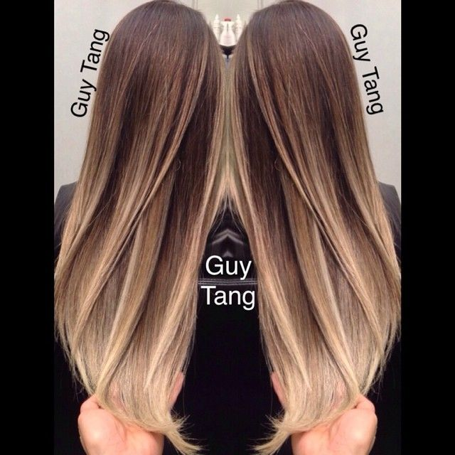 25 trending brown sombre hair ideas on pinterest brown for Guy tang salon