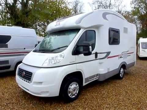 Adria Matrix Axess 2013 (NEW) 4 berth, small, motorhome, cross over, tour by Venture Caravans - YouTube