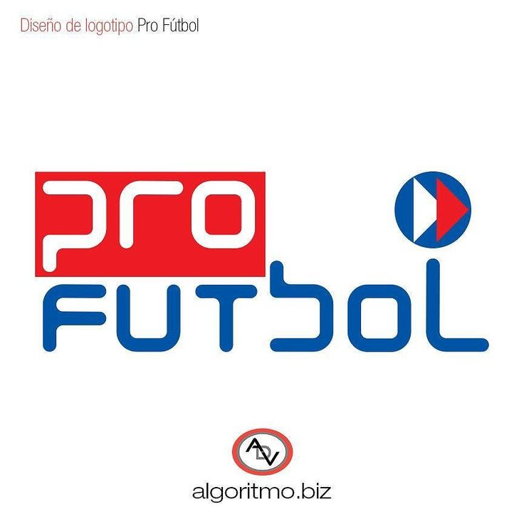 Diseño de #logotipo. Cliente: Pro Fútbol. Donación a organización deportiva de Venezuela.  #ADV #diseño  #grafico  #diseñografico #design  #graphic #graphicdesign #branding  #logo #logotype #inspiration  #logoinspirations  #typetopia #futbol  #soccer  #deportes  #sports #fundation