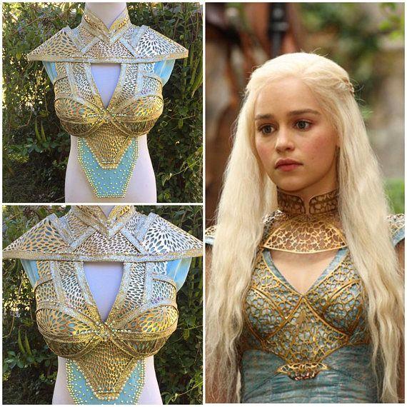Inspired by Daenerys Targaryen Khaleesi Cosplay