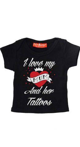 Darkside Tattoo Mum Baby T-Shirt