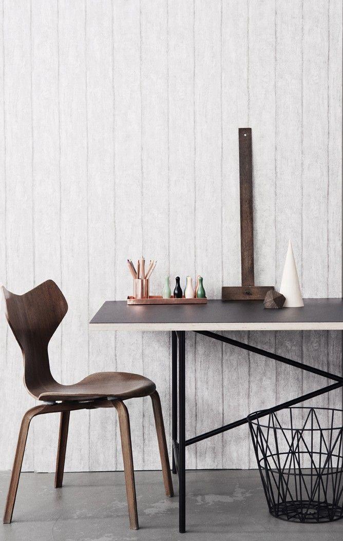 Ferm Living Concrete Wallpaper, available at #polkadotpeacock. #peacocklove #FERMliving