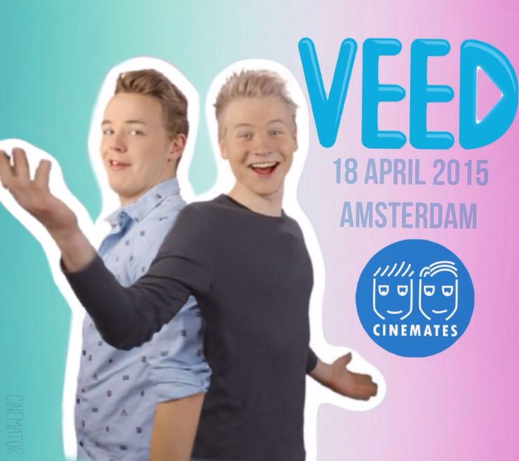 VEED! Meet your favourite Dutch Youtuber on Veed! Get your ticket at www.veed.nl -Cinemates-