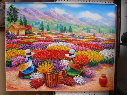 Pinturas oleo modernas para sala - Imagui