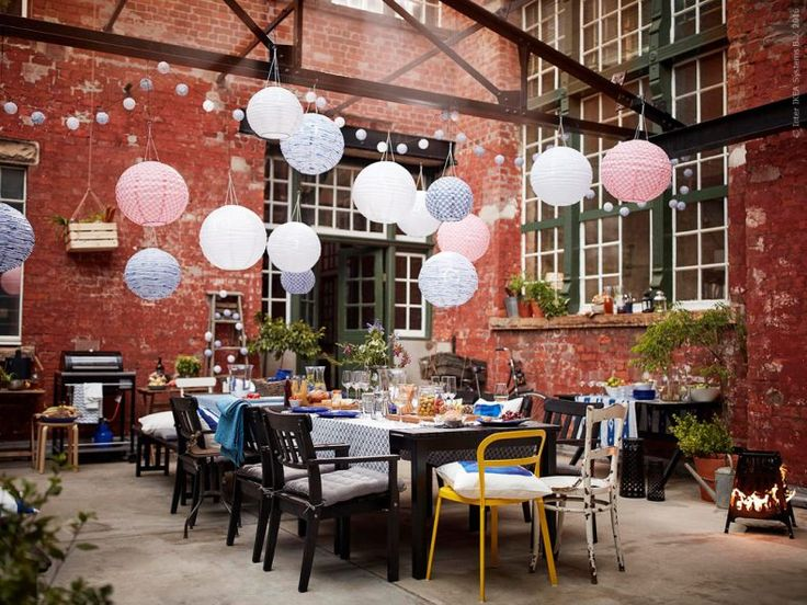 Outdoor diner Party