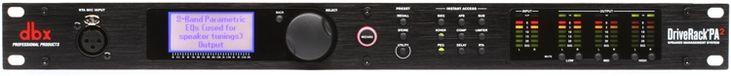 Speaker Optimizer with Feedback Suppression, Auto EQ, Compression, and Mobile Device Control