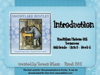 Snowflake Bentley - Lesson Introduction