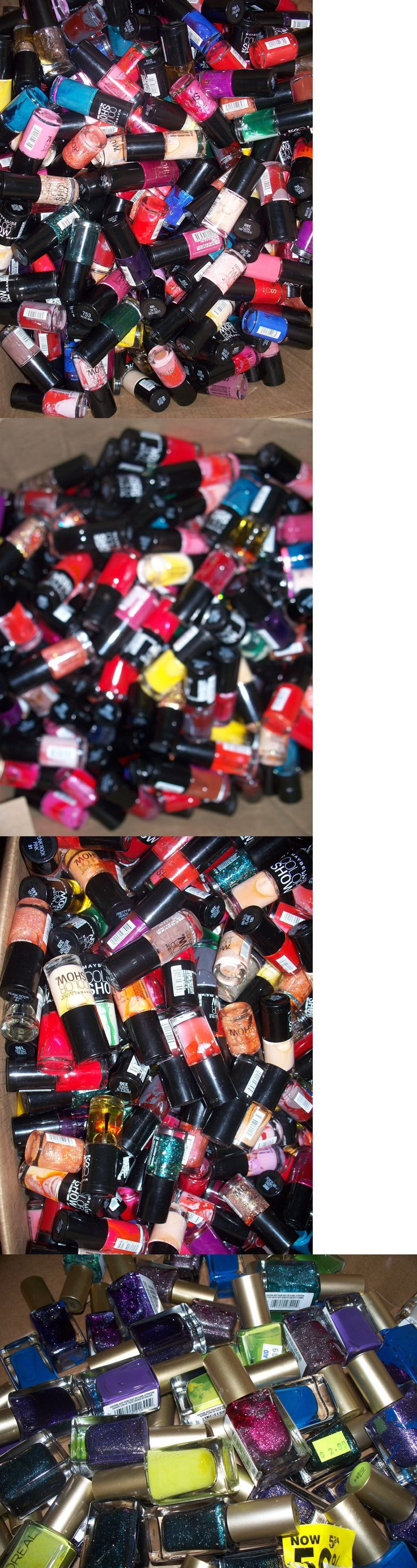 Nails: Lot Of 50 Maybelline And Loreal Nail Polish Great Mix Of Colors Wholesale Retail BUY IT NOW ONLY: $34.15