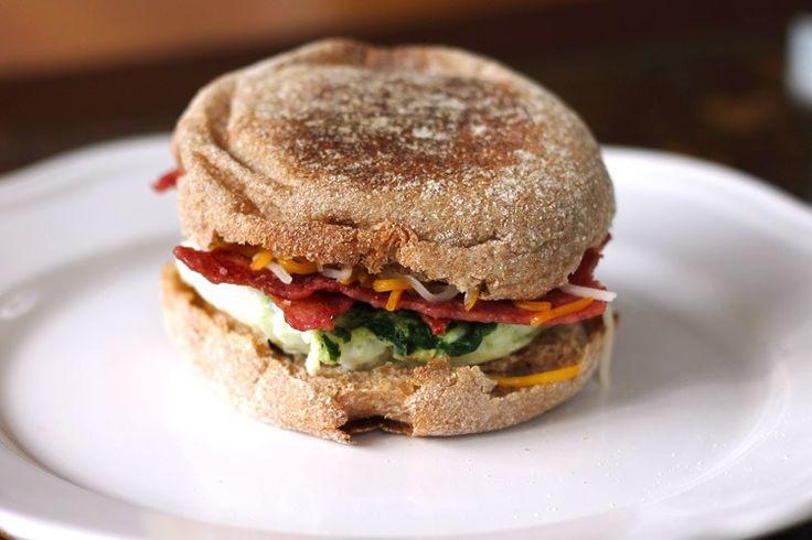 5-Minute Healthy Breakfast Sandwich