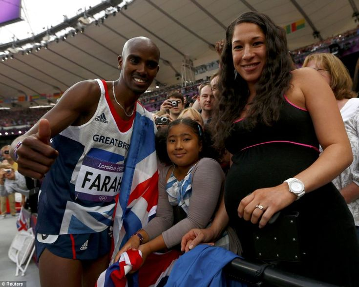 Mo Farah's Wife Gives Birth To Twins