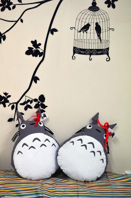 Tutorial: Totoro En coussin