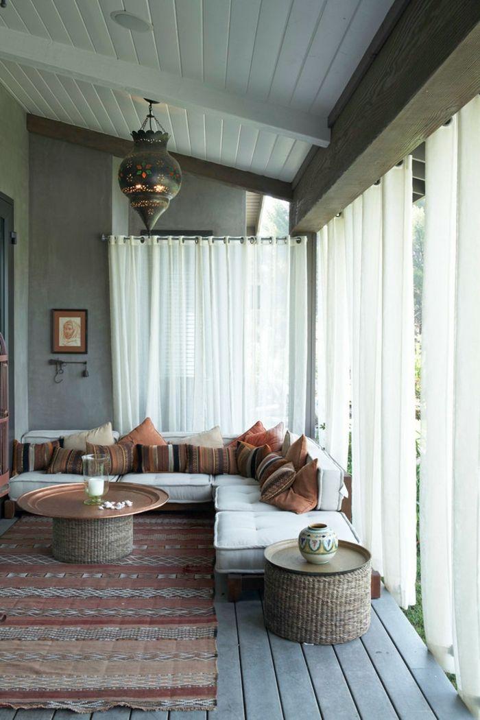 idées sur le thème Rideaux Salon Marocain sur Pinterest  Rideaux ...