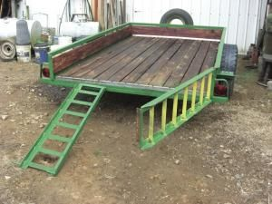 FARM SHOW - Trailer Ramps Double As A Tailgate