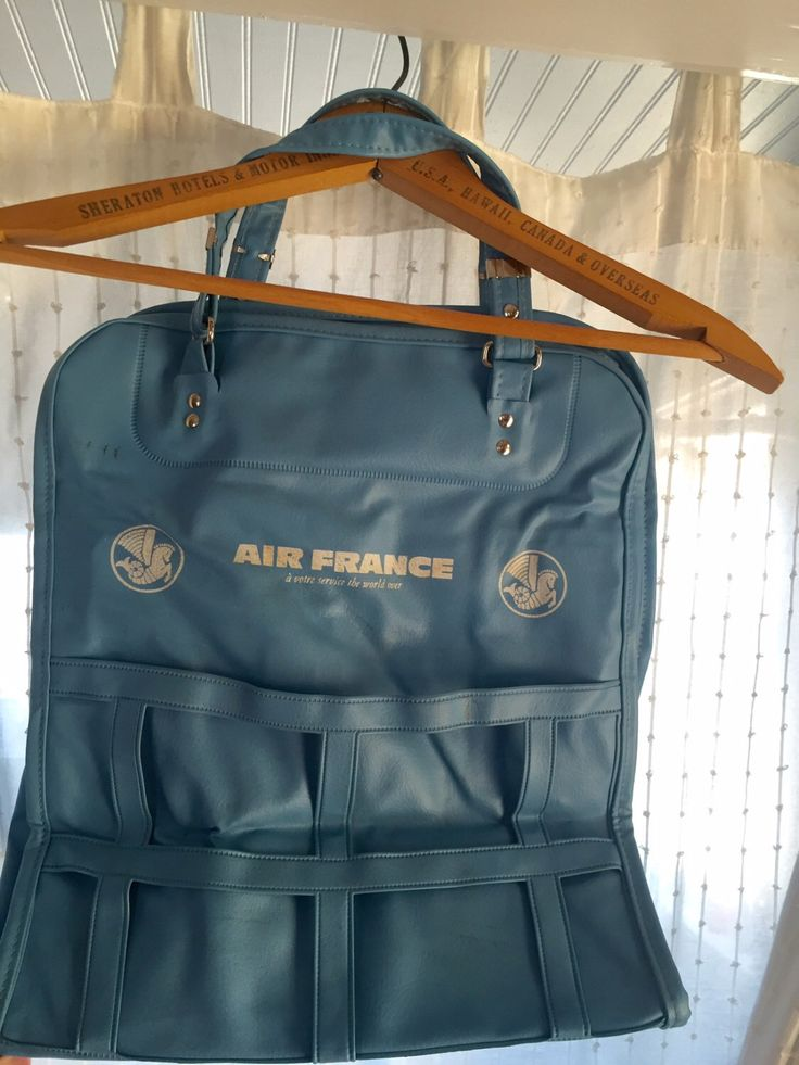 A personal favorite from my Etsy shop https://www.etsy.com/listing/456705800/vintage-air-france-airline-bag