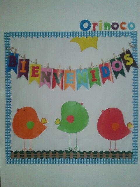 Cartelera de bienvenida: Orinoco 2014