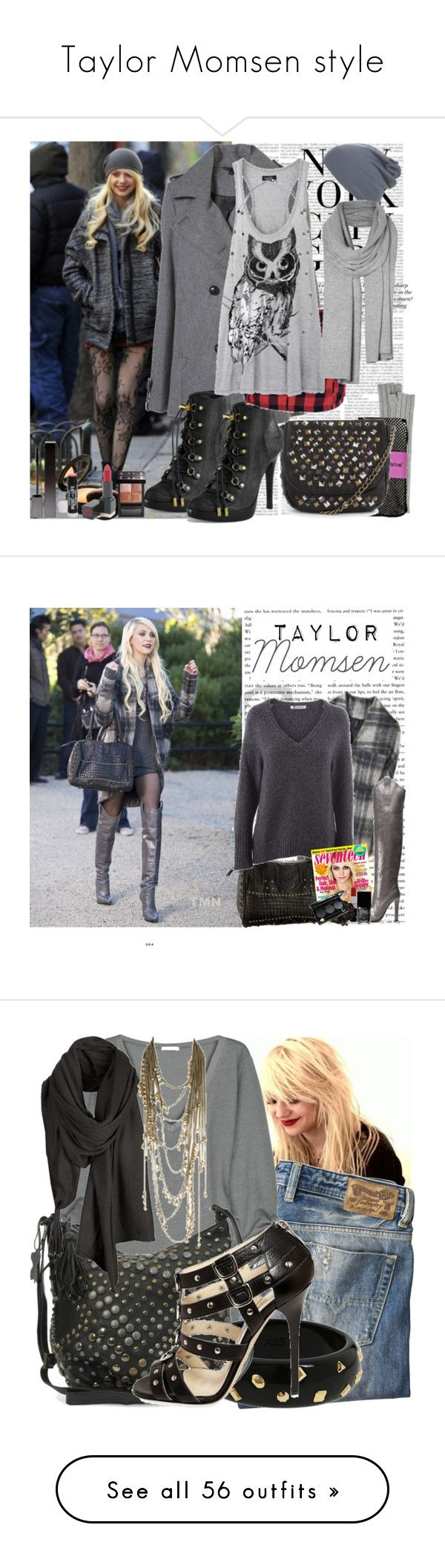 """Taylor Momsen style"" by childofdecember ❤ liked on Polyvore featuring H&M, Michael Kors, Betsey Johnson, Melie Bianco, Tory Burch, Serge Lutens, ULTA, Givenchy, EMILY THE STRANGE and LAUREN MOSHI"