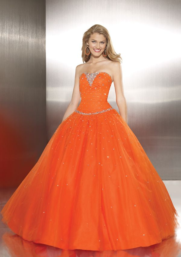 Prom DressLOVE Orange