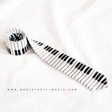 Piano 2 Slim Tie