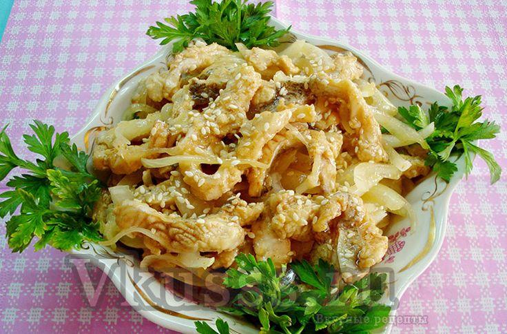 Хе из маринованной рыбы по-корейски рецепт приготовления
