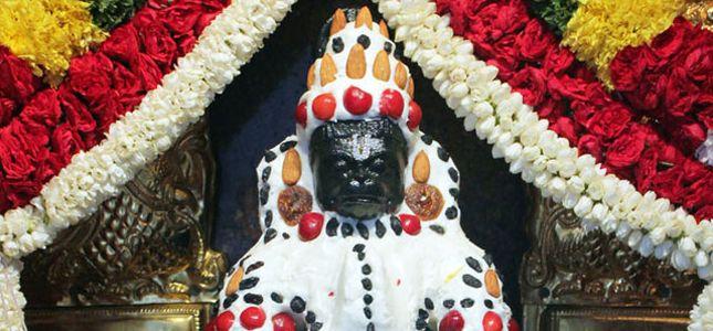 Hanuman Jayanti Sevas : Benne Alankara Seva