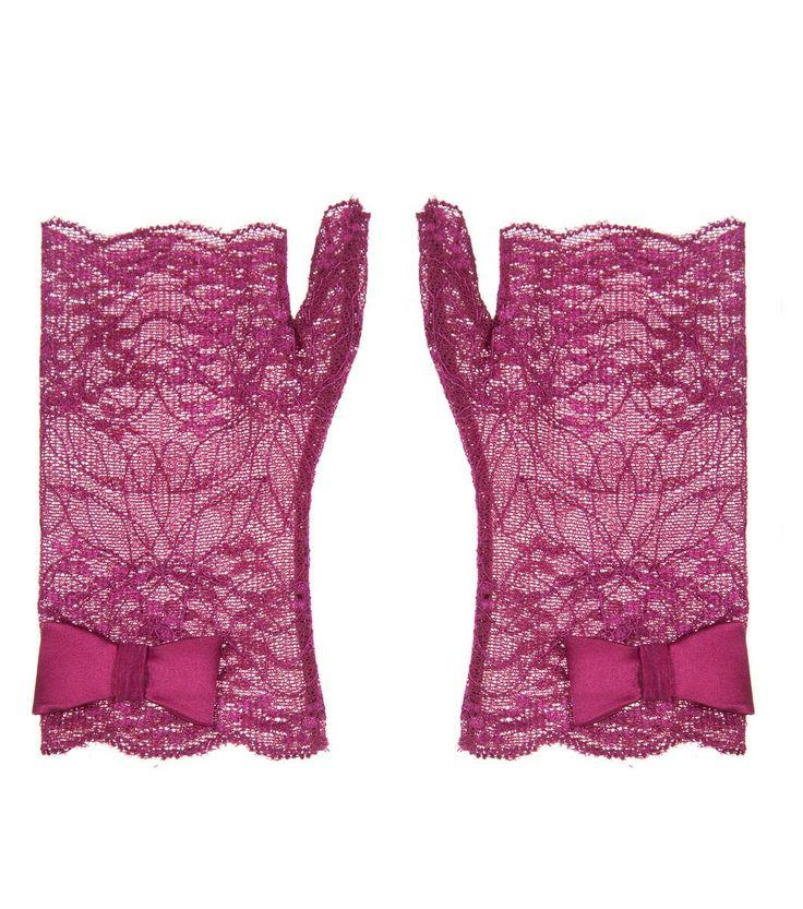 Alannah Hill - If You Hear Music Dance Glove short fingerless gloves. dainty!