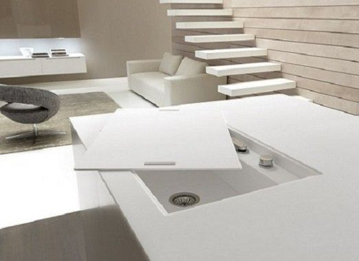 Hidden Sink/faucet