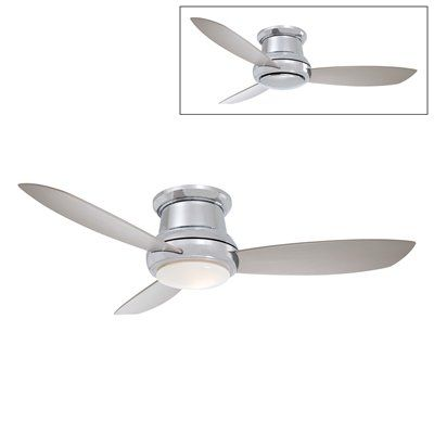 Minka Aire F518 44in. Concept™ II Flush Mount Ceiling Fan - Lighting Universe $284 + $35 wall remote (free shipping)