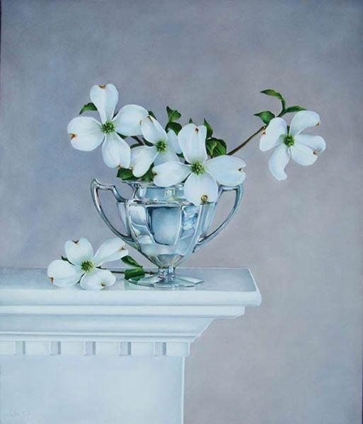 dogwood flowers. LAMINAS... Y TRABAJOS CON FLORES (pág. 221) | Aprender manualidades es facilisimo.com