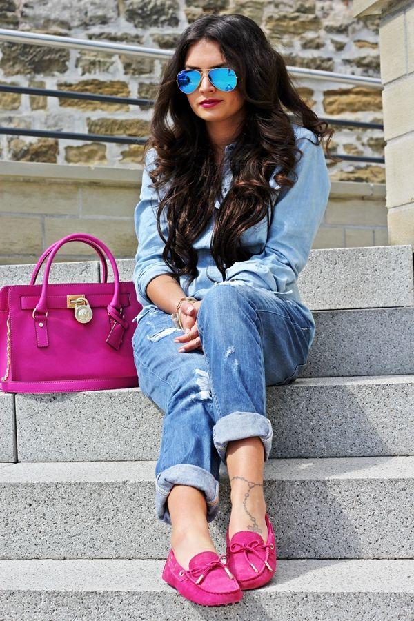 FashionHippieLoves blog. denim on denim