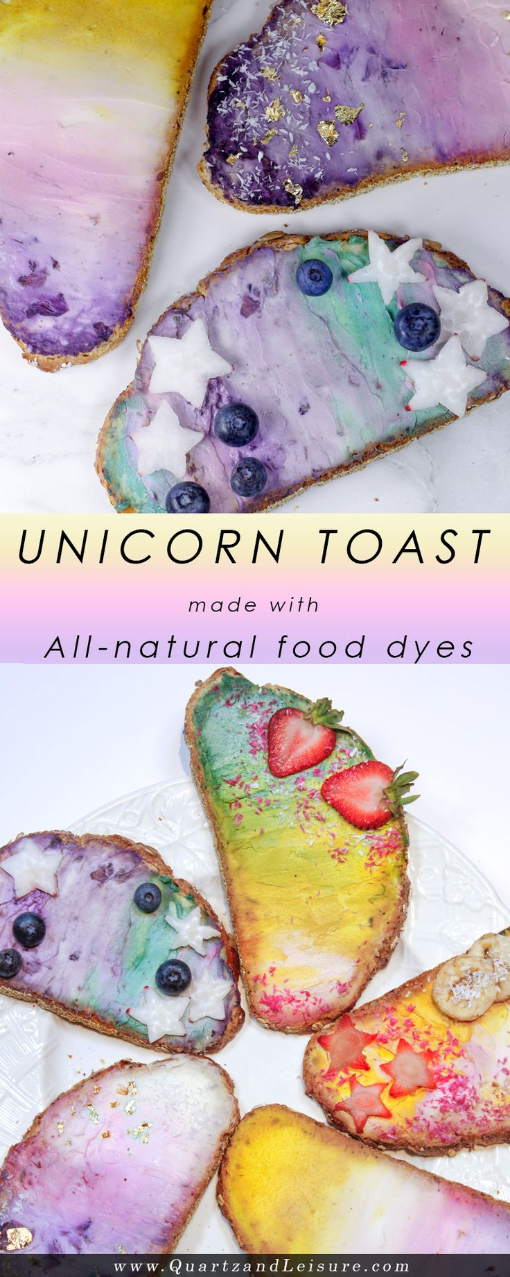 Unicorn Toast - Quartz & Leisure