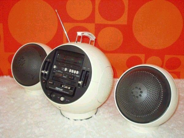 Space age radio set!