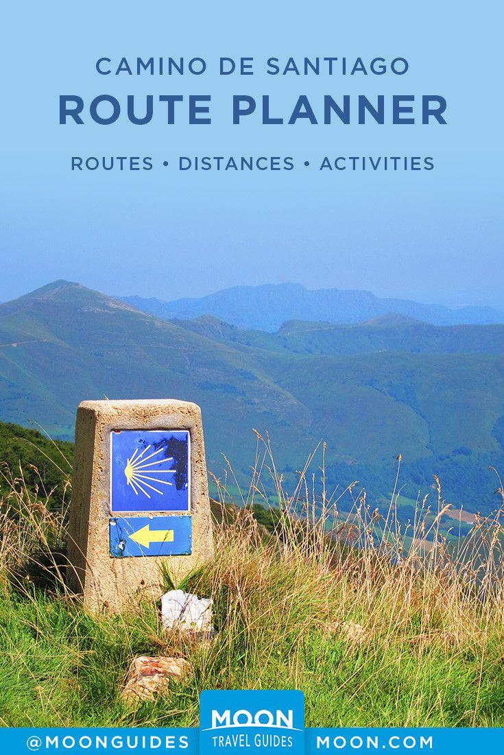 Camino De Santiago Route Planner Camino Routes Camino De
