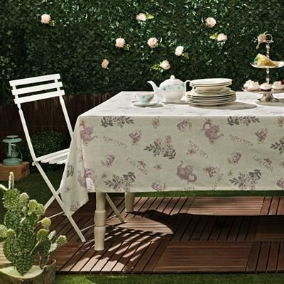 Taç Tea Time Lila 160x160 Masa Örtüsü | cazip geldi