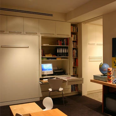 study nook - pull out desk